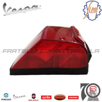 Fanale Faro Posteriore Siem Piaggio Vespa Px 125 150 200 1984-2000 Eq 219091 T3449010 1788 246420300