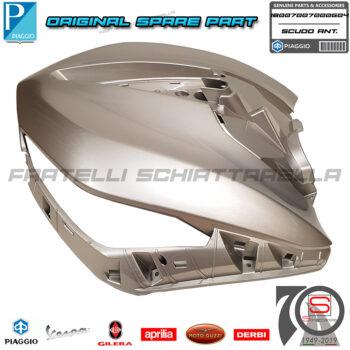 Scudo Anteriore Grigio G04 Originale Piaggio New Beverly Hpe Abs E5 300 400 1B007007000G04