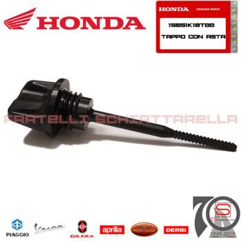 Tappo Con Asta Livello Olio Motore Nero Originale Honda 15651 K1B T00 15651-K1B-T00 15651K1BT00