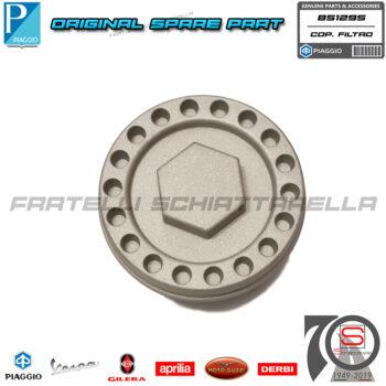 Tappo Coperchio Vaschetta Filtro Olio Originale Piaggio Beverly 4T IE Sport 350 855409 851295