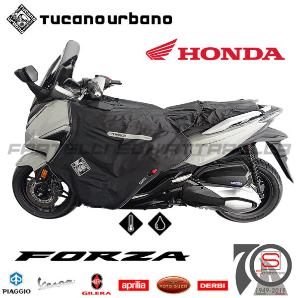 Coprigambe Termoscud Coperta Tucano Urbano Honda Forza 125350 2021R220-X R220 R220 X
