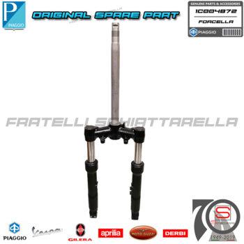 Forcella Anteriore Originale Piaggio New Beverly HPE 300-400 dal 2021 1C004872 (2)