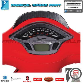 Cornice Contachilometri Gruppo Strumenti Originale Piaggio Vespa Sprint Iget Abs 50 125 150 1B006399