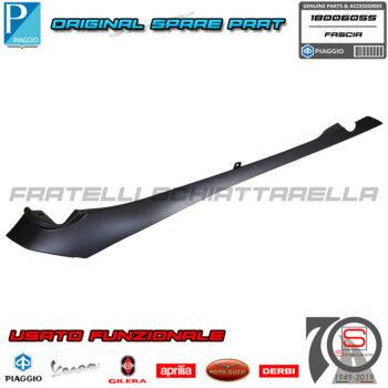 Fascia Sottosella Sinistra Effetto Carbonio Carbon Look Originale Piaggio Beverly 350 1B006055 sinistro